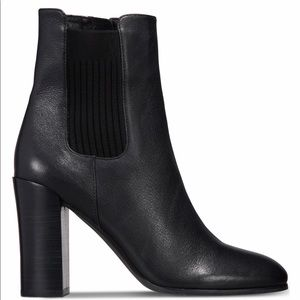 NIB KENNETH COLE JUSTIN BOOTIES BLACK sz 9.5